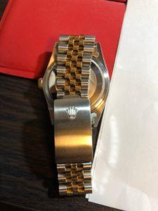 ブランド時計買取の時計査定本舗に買取依頼したロレックスのデイトジャスト