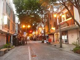 福島の街並み