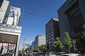 福岡市街並み