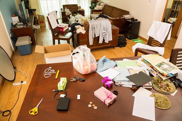 大掃除の部屋 片付け